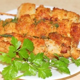 Thịt gà xiên tẩm bột nướng