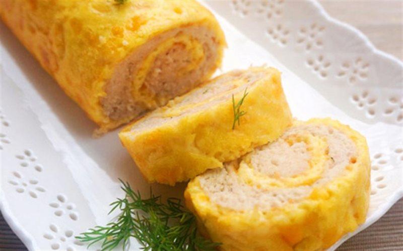 Cách Làm Trứng Cuộn Thịt Gà Ngon, Cực Đơn Giản