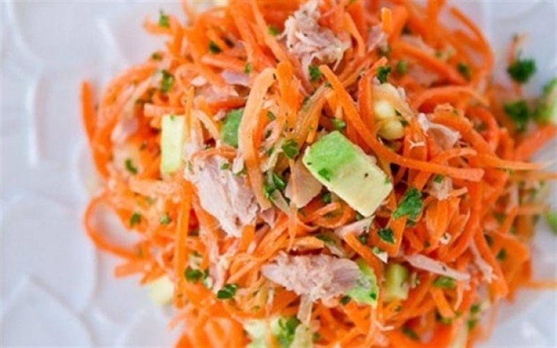 Cách Làm Salad Cà Rốt Cá Ngừ Trộn Dầu Mè Đơn Giản