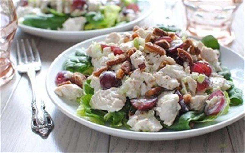 Cách Làm Salad Thịt Gà Sữa Chua Cho Ngày Cuối Tuần