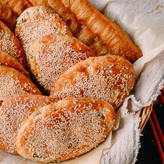 Cách Làm Bánh Mì Mè Kiểu Thượng Hải Đơn Giản Ở Nhà
