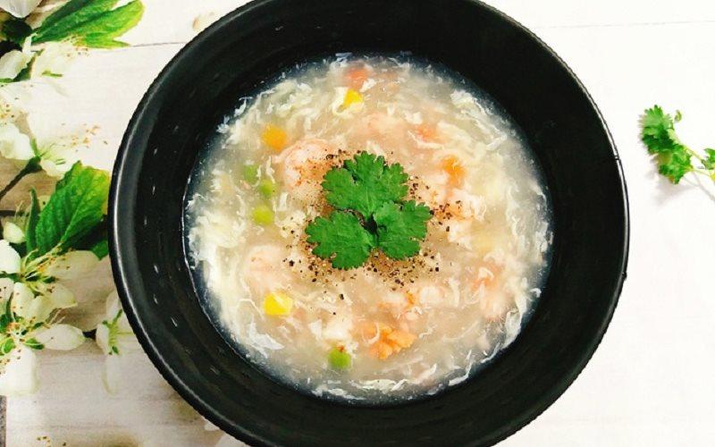 Cách làm súp tôm cho bé