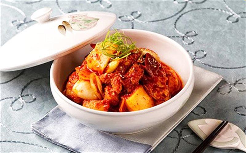 Cách làm Gà Sốt Khoai Tây Kiểu Hàn đổi vị bữa ăn gia đình