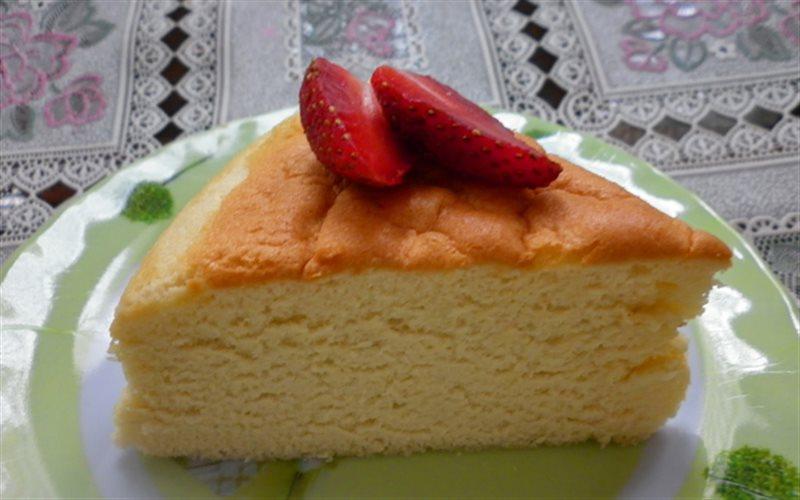 Cách làm Bánh Bông Lan Phô Mai Nhật Bản mềm xốp thơm ngon