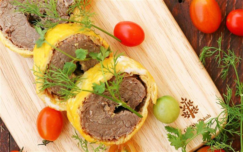 Cách Làm Trứng Chiên Cuộn Thịt Bò Siêu Đơn Giản