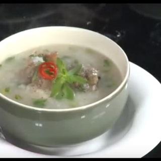 Cách làm cháo lươn nấu khoai môn