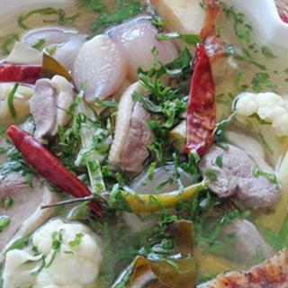 Cách Làm Súp Thịt Vịt Cay Thơm Ngon, Đơn Giản