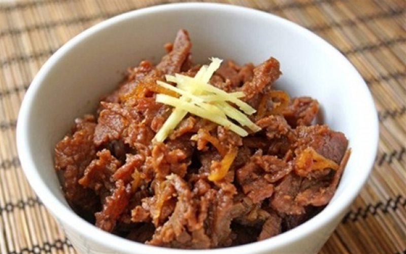 Cách Làm Thịt Bò Rim Gừng Thơm Ngon Đậm Đà Đưa Cơm