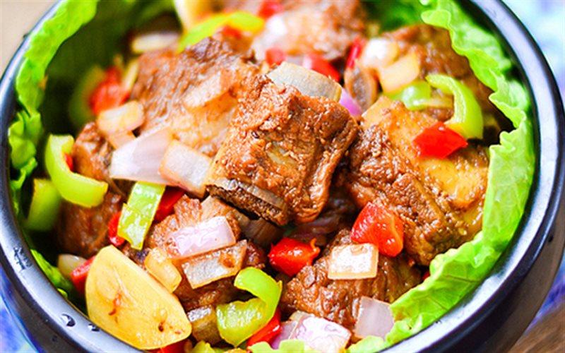Cách làm Sườn Non Om Cay đơn giản, cho bữa cơm gia đình