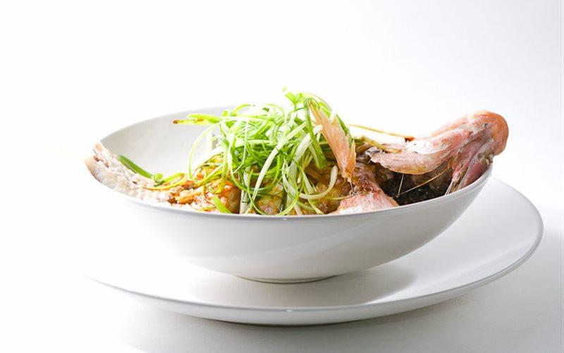 Cách làm Cá diêu hồng hấp kiểu Trung