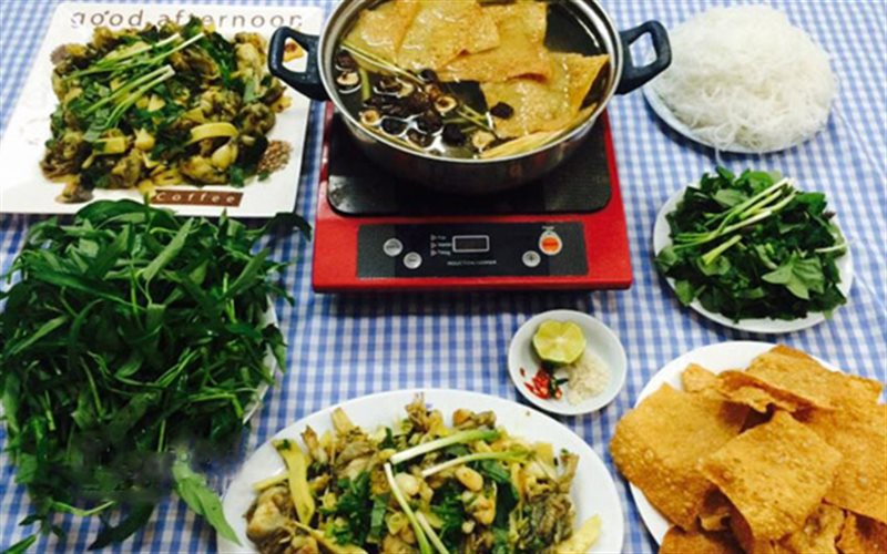 Cách làm Lẩu Ếch Nấu Măng hấp dẫn cho món ngon cuối tuần