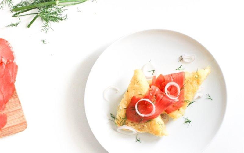 Cách Làm Bánh Polenta Cá Hồi Đơn Giản, Ăn Là Ghiền