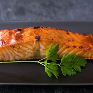 Cách làm Cá hồi nướng sốt Hoisin