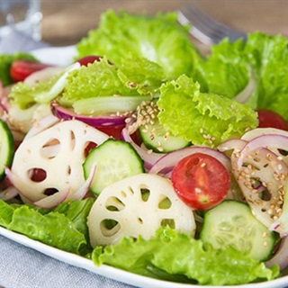 Cách làm salad củ sen