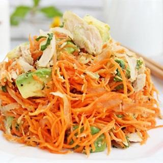 Cách Làm Salad Cà Rốt Với Cá Ngừ Béo Ngon, Hấp Dẫn