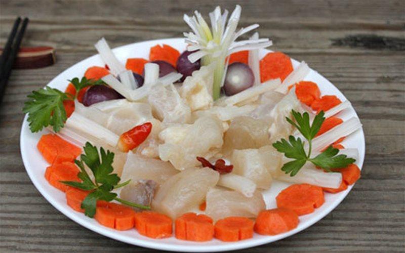 Cách làm Gân Bò Ngâm Chua Ngọt cùng cà rốt, hành tím