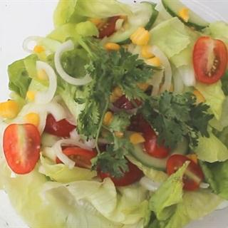 Cách Làm Salad Trộn Dầu Giấm Chua Ngọt Để Ăn Kiêng