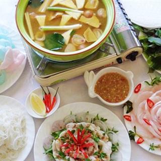 Cách nấu lẩu cá diêu hồng nhanh gọn