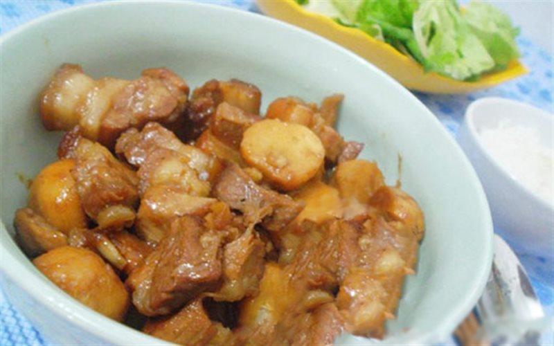 Cách Làm Thịt Ba Chỉ Om Khoai Sọ Đậm Đà, Thơm Ngon