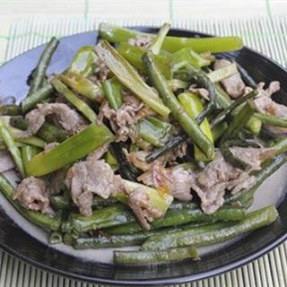 Cách Làm Đậu Đũa Xào Thịt Bò Thơm Ngon Dinh Dưỡng