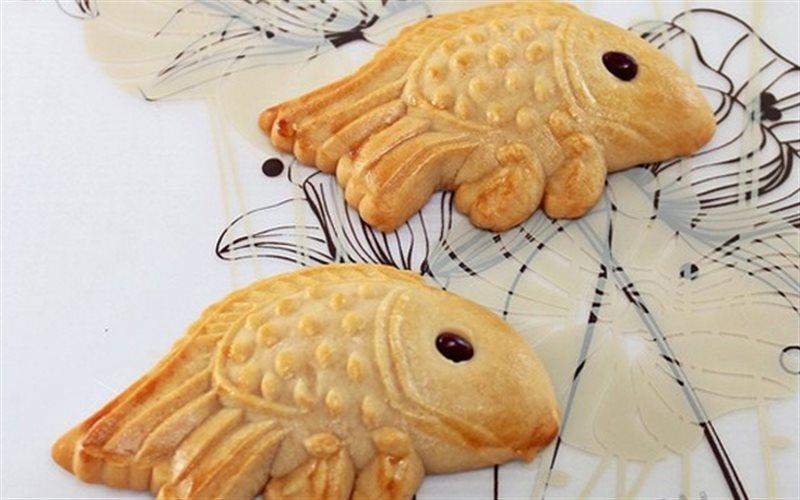 Cách làm Bánh Trung Thu Con Cá đẹp mắt mà rất đơn giản