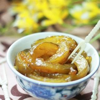 Cách làm Ô Mai Cóc Xào Gừng chua ngọt, dịu nhẹ cực ngon