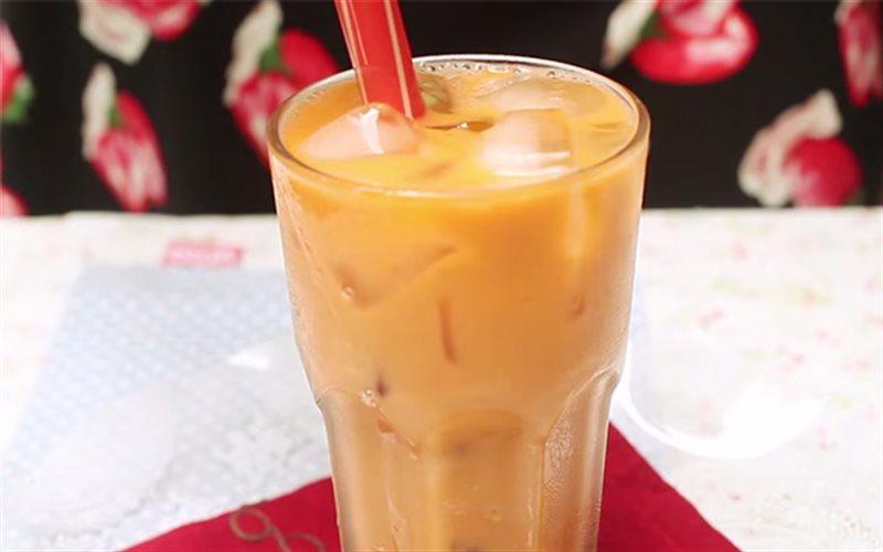 Cách làm Trà Sữa Thái Lan màu vàng cam, ngọt lịm thơm ngon