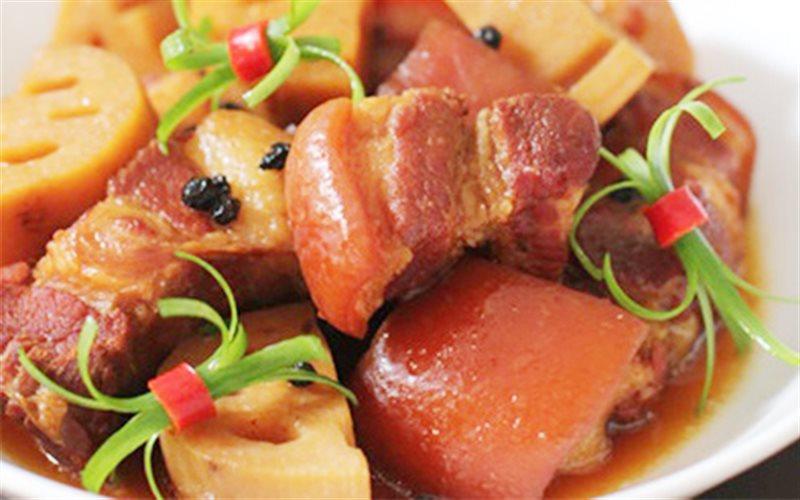 Cách Làm Thịt Kho Củ Sen Tương Hột Đậm Đà Đưa Cơm