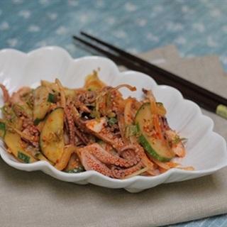 Cách làm Gỏi Bạch Tuộc cay cực hấp dẫn, ăn là ghiền ngay