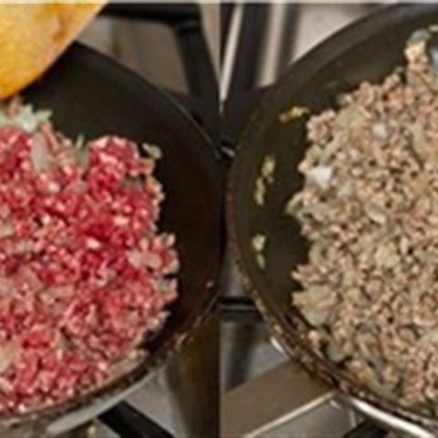 Khoai tây thịt bò viên