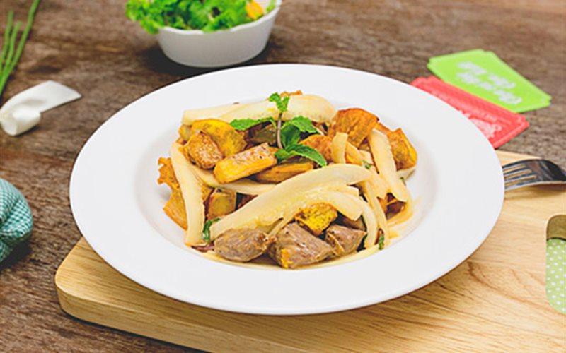 Công Thức Salad Khoai Trộn Thịt Bò Mới Lạ Hấp Dẫn