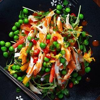 Cách Làm Salad Gà Trộn Đậu Hà Lan Dễ, Ngon Miệng
