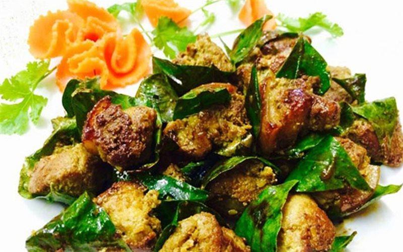 Cách Làm Thịt Heo Cuộn Lá Mắc Mật Nướng Cực Ngon