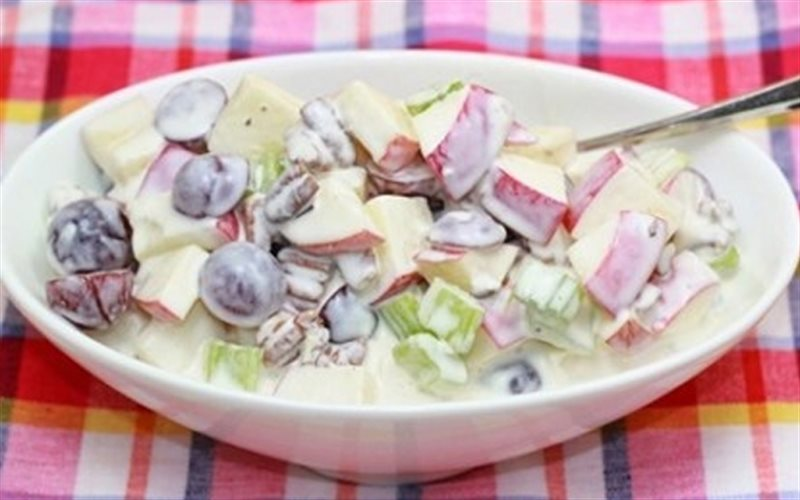 Cách Làm Salad Táo Nho Độc Đáo Đổi Vị Cho Cả Nhà