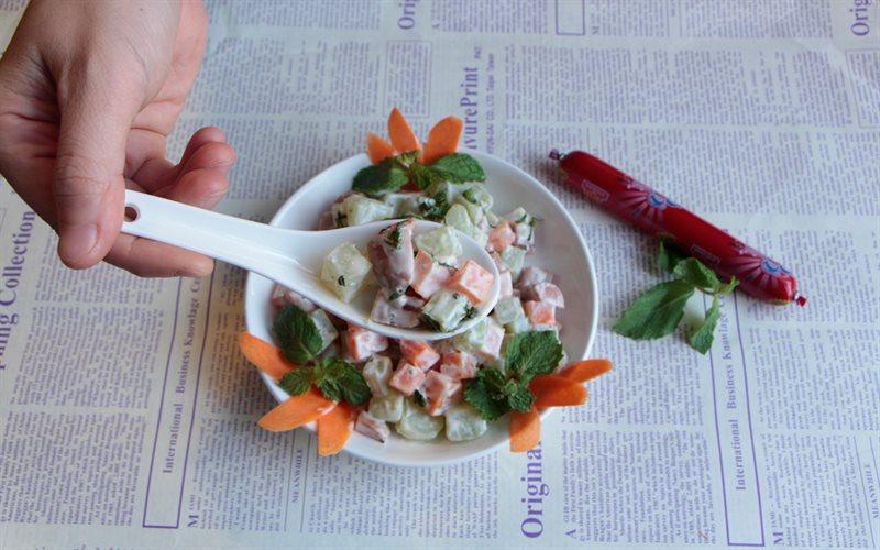 Cách Làm Salad Su Su Giòn Mát Thơm Ngon Mời Cả Nhà