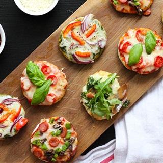 Cách Làm Bánh Pizza Mini Hấp Dẫn Đơn Giản Tại Nhà