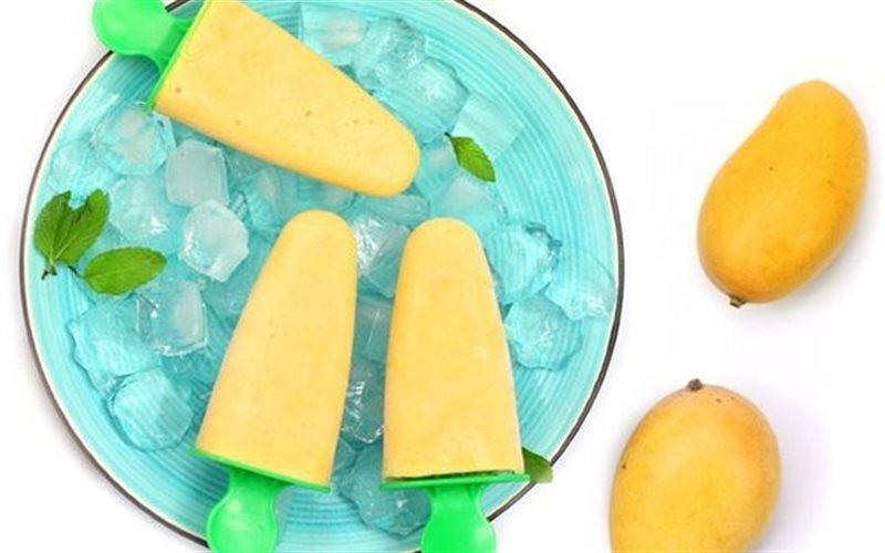 Cách Làm Kem Que Xoài Thơm Mát, Bổ Sung Vitamin C