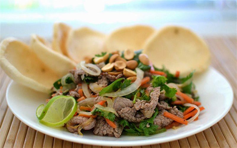 Cách làm Bò Tái Chanh ngon mềm thơm đơn giản tại nhà