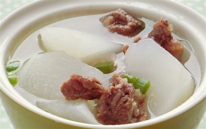 Cách Làm Canh Thịt Bò Nấu Củ Cải Đậm Đà, Bổ Dưỡng