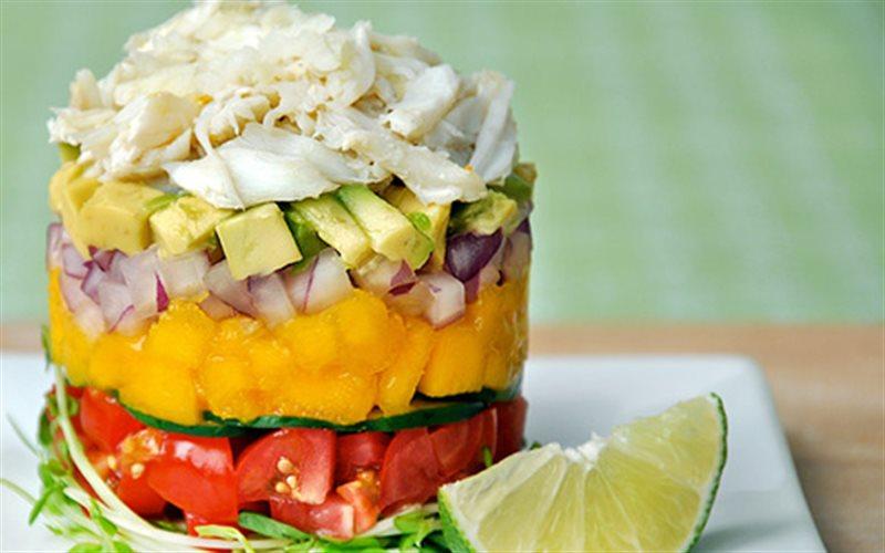 Cách Làm Salad Thịt Cua Ngon Miệng Đổi Vị Cả Nhà