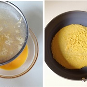 Trứng bọc gà nấm