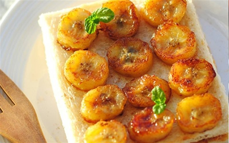 Cách Làm Bánh Mì Kẹp Chuối Thơm Lừng, Ăn Là Ghiền