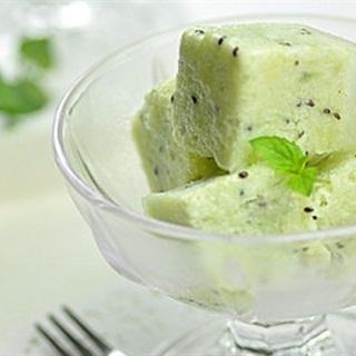 Cách làm kem viên kiwi