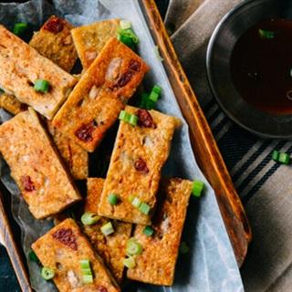Cách làm Bánh Khoai Môn Chiên lạ miệng ăn vặt trời se lạnh