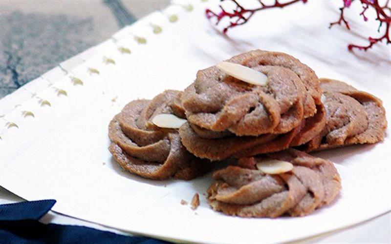 Cách Làm Bánh Quy Chocolate Hạnh Nhân Cho Ngày Tết