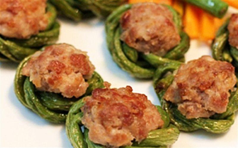 Cách làm Đậu Đũa Bọc Thịt ngon ăn đứt xe cá viên chiên