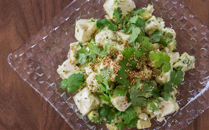 Cách Làm Salad Bơ Đậu Hũ Đơn Giản, Cực Thơm Ngon