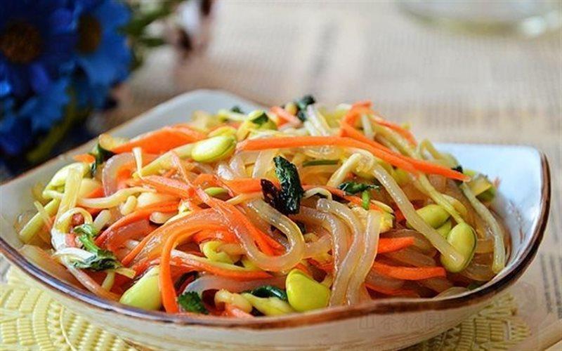 Cách Làm Salad Rau Mầm Trộn Bún Ngon, Đơn Giản