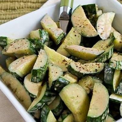 Cách làm salad dưa leo chua ngọt