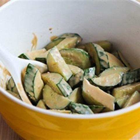 Salad dưa leo chua ngọt